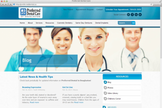 Preferred Dental Care Blog Page