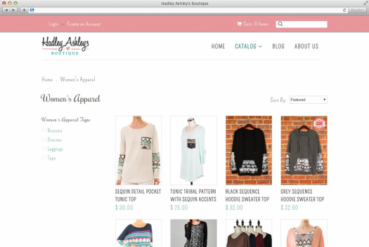 Hadley Ashley's Products Page