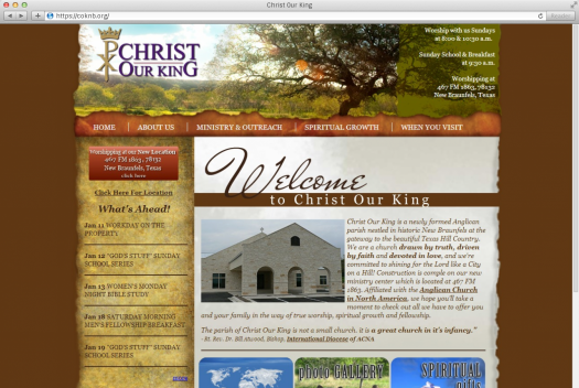 Christ Our King Home Page