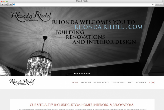 Rhonda Riedel Home Page