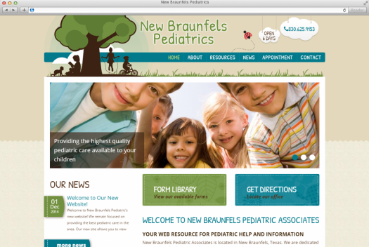 NB Pediatrics Home Page