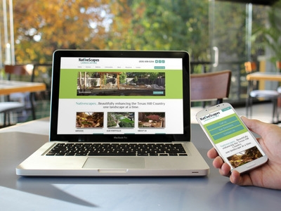 NativeScapes Landscaping Responsive Design