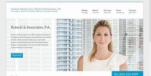 Rutecki and Associates Home Page