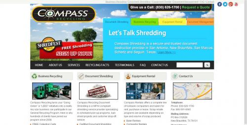 Compass Recycling Home Page