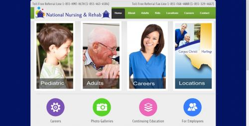 National Nursing and Rehab Home Page