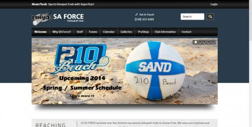 SA Force Home Page
