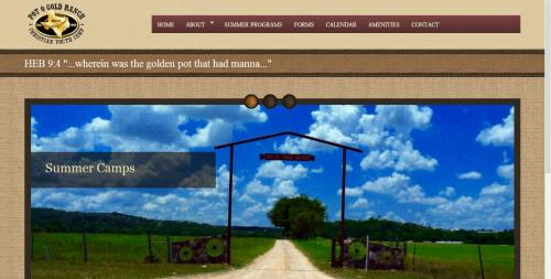 Pot O' Gold Ranch Home Page