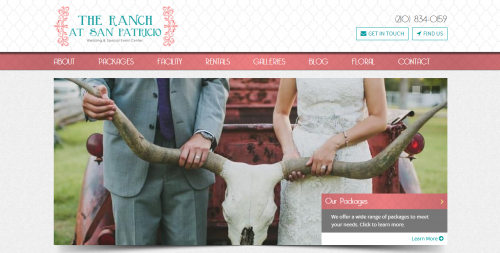 The Ranch at San Patricio Home Page