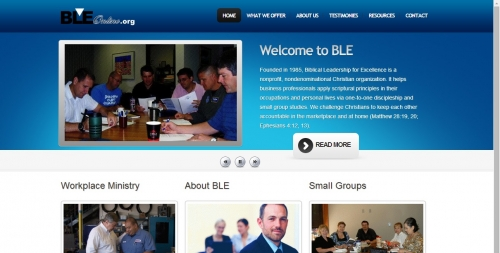 Biblical Leadership for Excellence Home Page