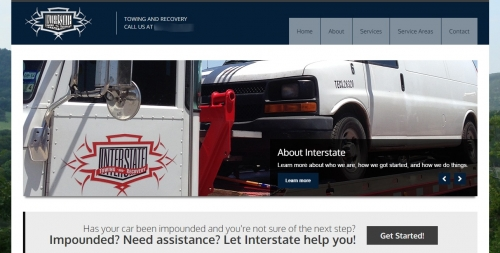 Interstate Towing Home Page