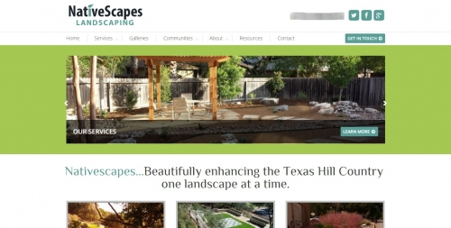 NativeScapes Landscaping Home Page