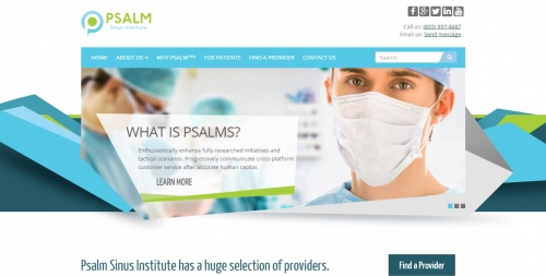 Psalms Sinus Institute Home Page